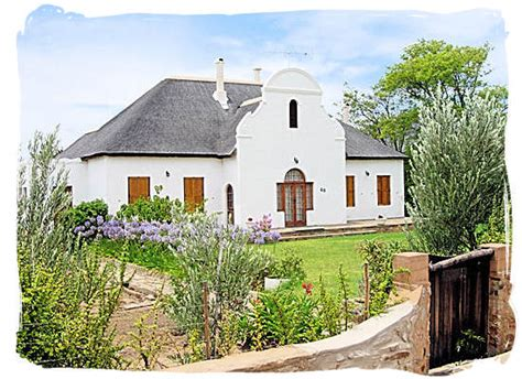dutch style houses the karoo national park in south africa