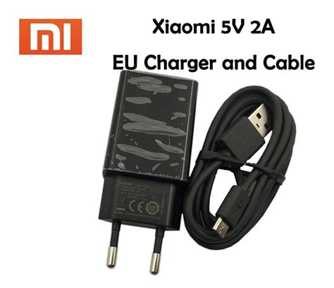 Xiaomi Charger 2a With Usb Typec Origina Kode Ss3825 origina xiaomi usb charger 5v 2a eu power adapter usb data cable for xiaomi redmi 4x note4x 5 6
