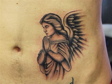 kneeling angel tattoo kneeling praying pictures to pin on