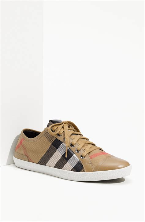 burberry shoes burberry check print sneaker sneaker cabinet