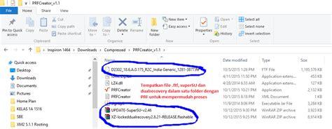 cara membuat flashable zip via hh jenanggula xperia m2 dual d2302 lollipop update 18 6 a