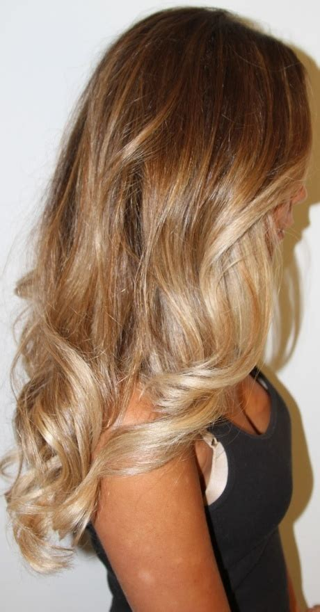 dark with blonde ombre pictures the ombre hair color trend would you
