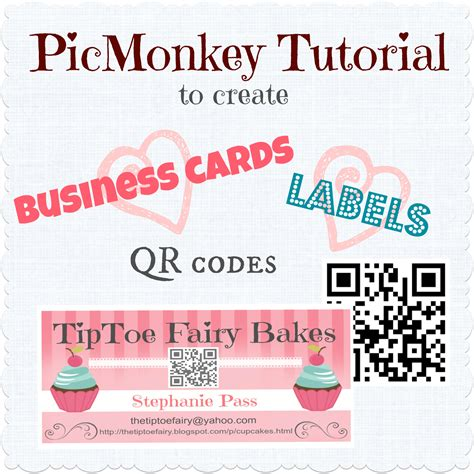 how to make my own card make your own business cards labels with qr code