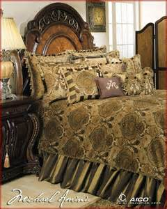 aico furniture pontevedra luxury bedding set ai pntvda