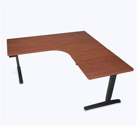 Adjustable Height Desks Uplift Desk L Shaped Adjustable Height Desk