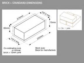 brick dimensions uk search building projects