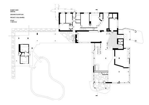 floor plan of villa mairea alvar aalto noormarkku