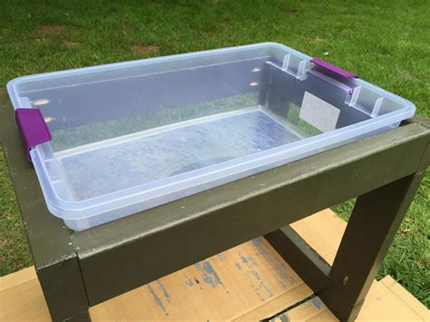 diy toddler activity table learn how to build a toddler s water table how tos diy