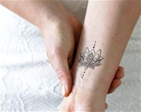 hidden lotus tattoo utah unalome lotus temporary tattoo set of two bohemian
