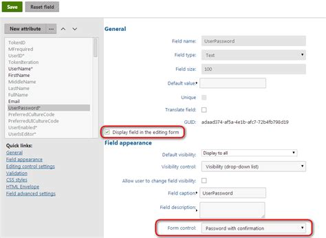 kentico layout web part using the registration form and custom registration form