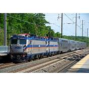 MARC Train With Bi Levels On The Penn Line At BWI