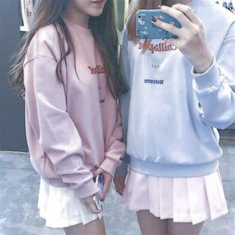 Jaket Hoodie Kpop Cn Blue Chibi sweater pastel aesthetic kawaii harajuku