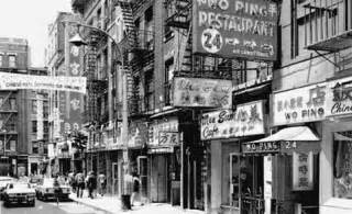 photo gallery history of chinatown in new york city