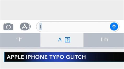 a iphone glitch apple iphone glitch creating typos for users abc13