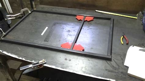 haggetts available project options haggetts aluminum building custom welding cart welding table part 1 youtube