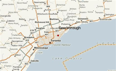 regional map local map detailed map scarborough location guide