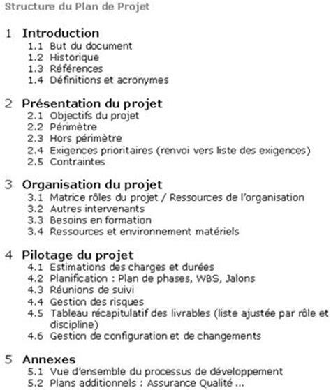 Modã Le Plan D Projet Exemple De Plan De Projet Qualitystreet Agile