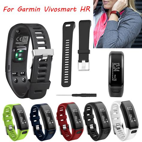 reset time on garmin vivosmart 1 x replacement band bracelet wrist strap for fitness
