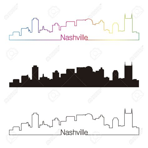 watercolor tattoo nashville tn nashville skyline silhouette search tattoossss