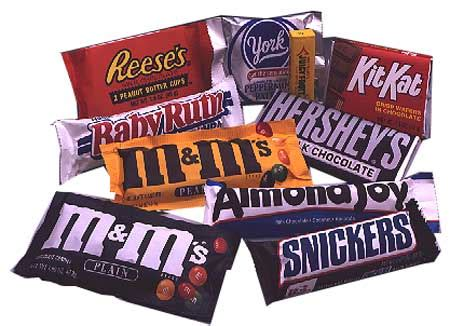top candy bar the best and worst halloween candies for your waistline