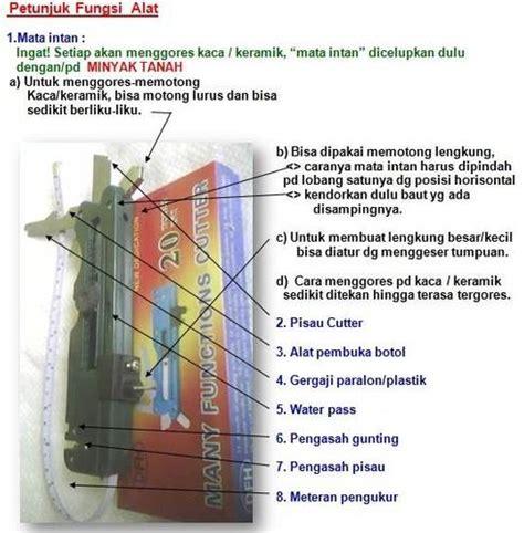 Alat Pemotong Kaca Bulat alat pemotong kaca serba guna gilang
