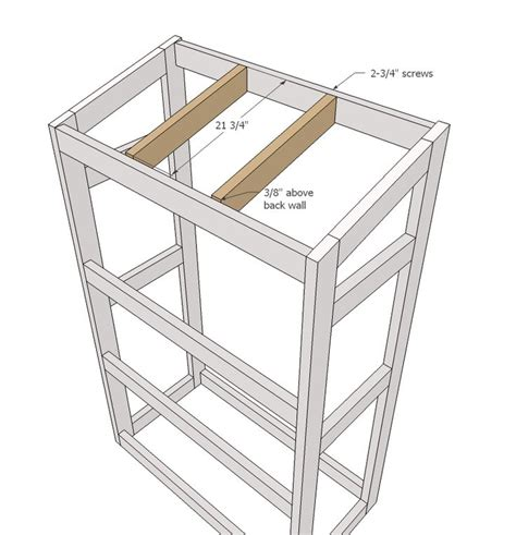 ana white how to small 17 best images about washer dryer risers on pinterest