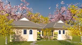 u home u shaped house plan