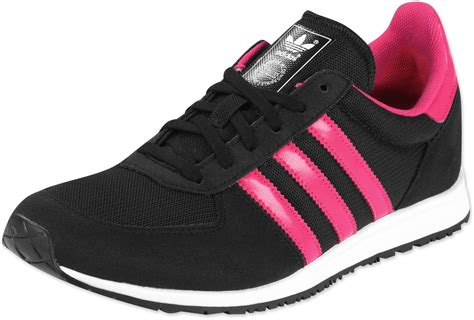 adidas adistar racer w shoes black pink white