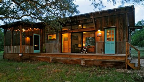 glamorous tiny house beautiful reclaimed cabin with modern comforts tiny