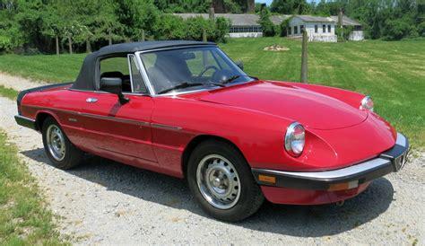1986 Alfa Romeo Graduate by 1986 Alfa Romeo Spider Connors Motorcar Company