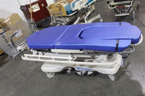 gurney bed hill rom hillrom transtar stretcher gurney bed ebay
