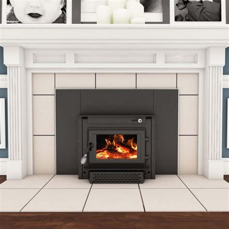 woodburning fireplace insert vogelzang wood burning colonial fireplace insert with