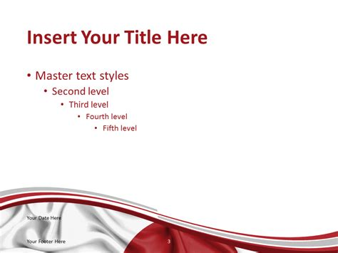 japan powerpoint template japan flag powerpoint template presentationgo