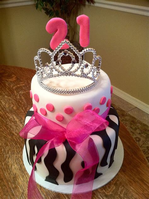 21st birthday cakes images