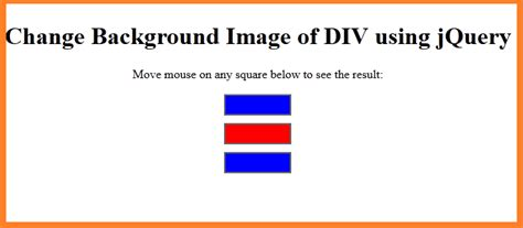 html tutorial mouseover using jquery change background color of div programming