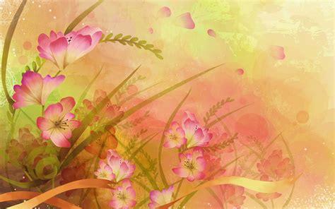 wallpaper flower art beautifully illustrated vector flower backgrounds