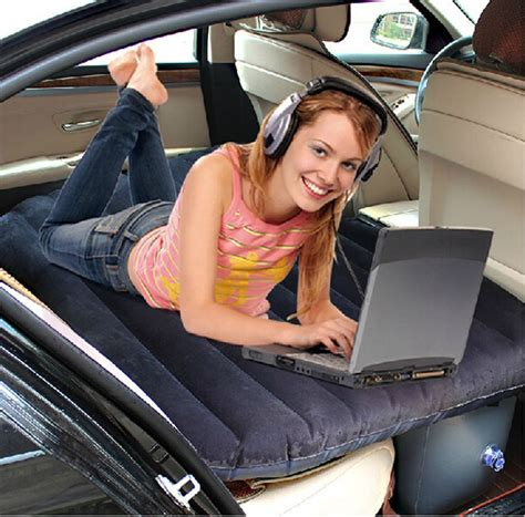 2015 car back seat cover car air mattress outdoor travel