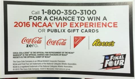 Publix Sweepstakes - new publix sweepstakes 2016 ncaa vip experience
