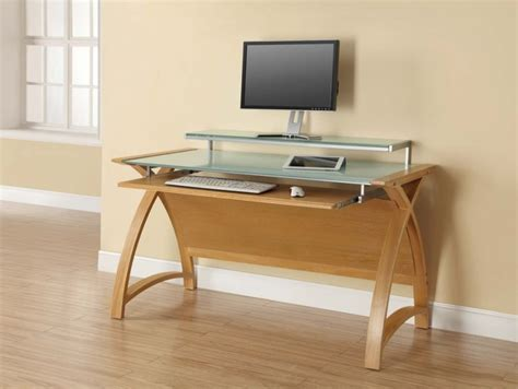 Jual Computer Desk Buy Jual Curve Oak Computer Desk Pc201 1300 Cfs Uk