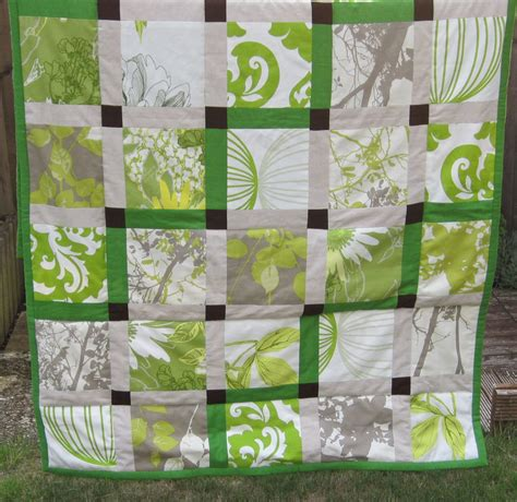 Green Patchwork Quilt - green patchwork quilt living room sewing projects