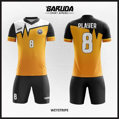 desain baju bola futsal printing weystripe garuda print