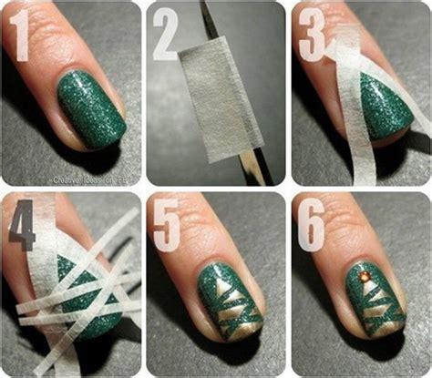 easy nail art christmas blogmas day 4 my favourite christmas nail ideas sophie