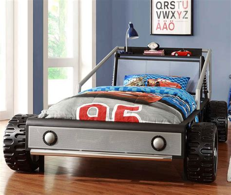 race car bedroom decor silver twin race car bed kids bedroom