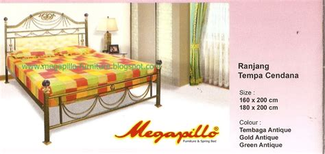Ranjang Besi Termurah megapillo furniture bed shop ranjang besi