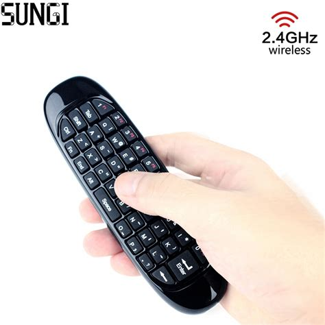 Sealed New C120 2 4g Air Mouse Wireless Keyboard Remote For An 2 4g mini wireless keyboard with rechargeable c120 air fly