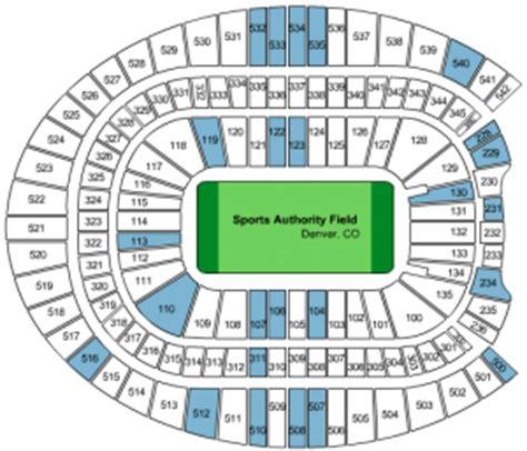 denver broncos stadium seating chart invesco field seating diagram diagrams auto parts