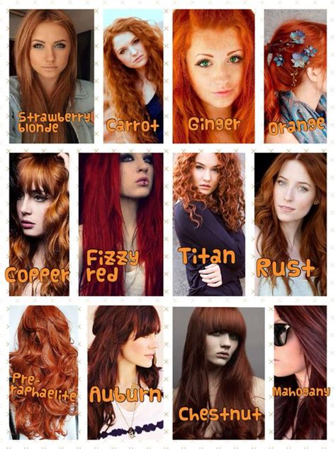 hair and head types i love every shade of red my hair is definitely a titan