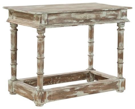 Distressed Coffee And End Tables Belcourt Accent Table Distressed Driftwood Coffee And Accent Tables By Furniture Classics