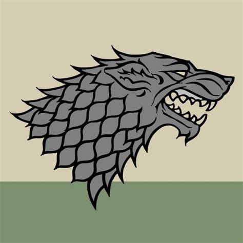 house of stark sigils in game of thrones medieval marketing history