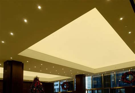 Stretched Ceiling System by Stretch Ceilings With Led Lighting System Newmat Uk Ltd